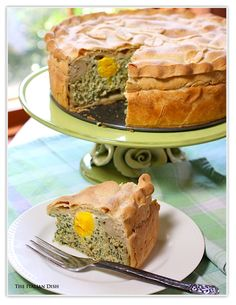 Someday I wish to have the cajones to make something like this....Torta Pasqualina, Italian Easter Pie.
