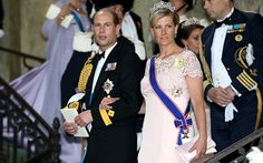 June 2013 Prince Edward, the Earl of Wessex and Sophie, the Countess of Wessex | wedding of Princess Madeleine of Sweden and Mr Christopher O'Neill