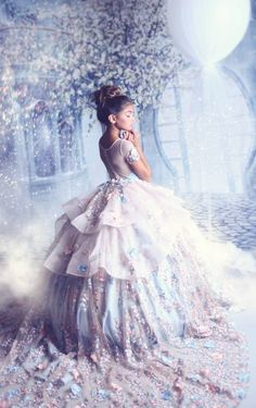 Blue and pink princess pageant dress, light blue extravagant couture ball gown Girls Pageant Dresses, Gowns For Girls, Event Dresses, Little Girl Dresses, Flower Girl Dresses, Flower Girls, Party Dresses, Kids Gown, Purple Bridesmaid Dresses