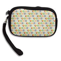 c9d08f4eb540 Color Balls Pattern Women s Zipper Small Wallet Purse Porte-monnaie Clutch  Cards Holder Wallet Purse
