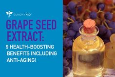 Grape seed extract has flavonoids, Vitamin E, linoleic acid, and phenolic procyanidins. And it& amazing for your skin and your body. Plant Paradox, Grape Seed Extract, Vitis Vinifera, Alpha Hydroxy Acid, Diet And Nutrition, Vitamin E, Natural Remedies, Anti Aging