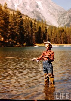 I would LOVE to go fly fishing - - - NOW.  Can't wait to have our raft on the rivers all summer ! ! !