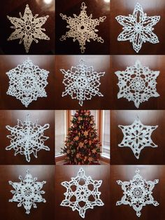 Snowflakes - Uncategorized - - Mama's Stitchery Projects
