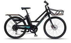 iZip E3 Metro Electric Cargo Bike - Low Step Black - http://www.bicyclestoredirect.com/izip-e3-metro-electric-cargo-bike-low-step-black/