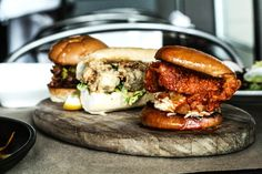 Chicken, burgers and guinea hen thighs… Yep! It's all part of the delicious menu at Holeman and Finch Public House in Atlanta.