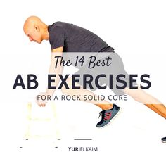 The 14 Best Ab Exercises for A Rock Solid Core -- The best ab exercises are not the ones you see in most magazines. Here are 14 smarter ab exercises for a rock solid core without hurting your back. Effective Ab Workouts, Lower Ab Workouts, Core Workouts, Band Workouts, Six Pack Abs Workout, Abs Workout For Women, Fat Workout, Workout Ideas, Abdominal Exercises