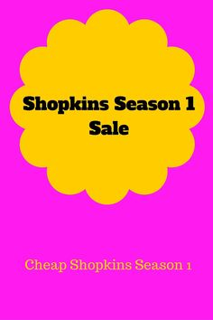 Where to buy cheap shopkins season 4 shopkins and seasons