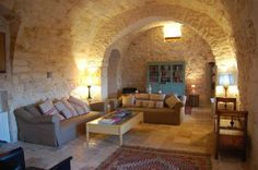 Trullo - living room