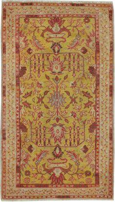 Antique Oushak Rug No 15709 Galerie Shabab