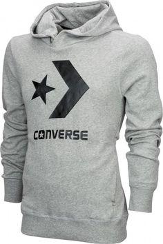 cafead081388  Converese Converse Mens Cons Core Popover Hoodie Vintage Grey Heather New  Converse
