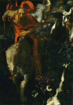 Wild Hunt ,1899 by Franz von Stuck Musee d Orsay
