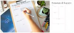 Planner à imprimer - programme de la journée Agenda Planning, Organiser, Jaba, Printables, Organization, Tools, How To Plan, Lifestyle, Bujo