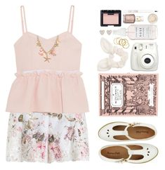 """""""#935 A Midsummer Night's Dream"""" by blueberrylexie ❤ liked on Polyvore featuring Zimmermann, Steve J & Yoni P, Olympia Le-Tan, Topshop, NARS Cosmetics, Essie, Dorothy Perkins and New Look"""