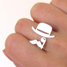 Monopoly man ring This would work with Natty Boh man!