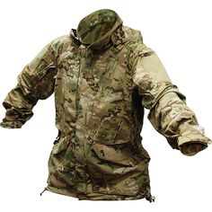 Vertx Men's Multicam Smock Jacket Developed by Crye Precision Multigame sets the standard for classic camouflage technology. Tactical Jacket, Tactical Gear, Mk1, Types Of Camouflage, Army Gears, Outdoor Survival Gear, Outdoor Gear, Cold Weather Gear, Army Shirts