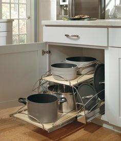 Aristokraft Base Pots and Pans Pullout kitchen-drawer-organizers