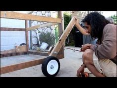 Wheel Lift Instructions start at 25:00  --How to Build a Chicken Tractor - Natural Farming with The Growing Club - YouTube