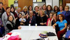 La alcaldesa visita los Talleres Sociales de Adultos, en los que participan cerca de 200 personas