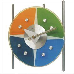 George Nelson Tic Toc, Modern Clock, Charles Eames, George Nelson, Furniture Companies, Herman Miller, Midcentury Modern, Industrial Design, Clocks