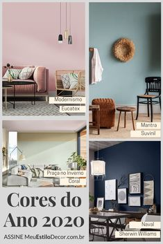 Cores Home Office, Home Office Decor, Home Decor, Interior Paint Colors For Living Room, First Apartment Decorating, Zen, Home Staging, Modern Interior Design, Decoration