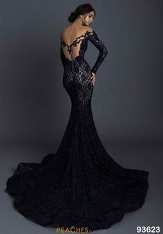 Formal Evening Dresses, Elegant Dresses, Pretty Dresses, Evening Gowns, Black Lace Dresses, Black Lace Gown, Prom Dresses, Bridesmaid Gowns, Black Wedding Gowns
