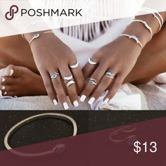 CLEARANCE Bracelet and Ring Set Snake bracelet with matching ring. Adjustable. Jewelry Bracelets