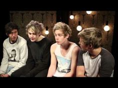 5 Seconds Of Summer Interview: Hot Chelle Rae And Visiting London - YouTube