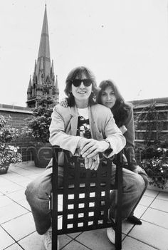 George & Olivia source: Beatle Wives & Girls Page on Facebook