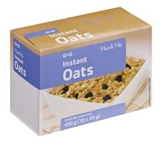 Cut down your cooking time with Instant Oats. #PicknPay