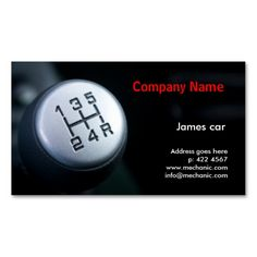 Auto parts salvage business cards automotive car business cards mechanic company business card template reheart Gallery