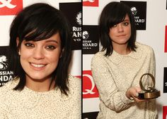 Lilly Allen's hair... I want it. I've wanted it foreverrrr.