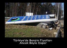 Türkiye de benzin fiyatları düştü...   #benzin #fiyat #indirim #gas #Funny #humour