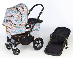Hi. I'm a stroller, and I'm sexy. How does she make a bugaboo look this good?