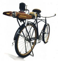 Steampunk Bike - I don't know how good this would be for riding, but it looks cool standing there.
