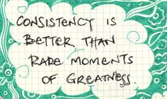 Word of the Week: Consistency. Why? Because consistently, compelling messaging is always in style! (It's actually a must for non-profit success.)