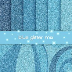 blue digital paper , glitter background