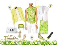 """""""Spring Flowers"""" by gracehands on Polyvore"""