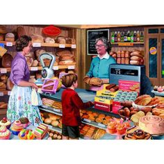 Jigsaw Puzzles Direct - A huge range of jigsaws, jigsaw puzzles, mind puzzles and accessories for all ages that you can buy online. Vintage Prints, Vintage Posters, Vintage Art, Mind Puzzles, Jigsaw Puzzles, Vintage Pictures, Old Pictures, Tante Emma Laden, Good Old Times