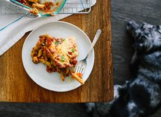 Healthy baked ziti recipe! cookieandkate.com