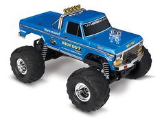 ﹩229.95. Traxxas BIGFOOT No. 1, 1/10 Scale 2WD Monster Truck, Waterproof, RTR TRA36034-1    UPC - Does not apply, Year - 2017