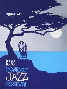 1979 Monterey Jazz Festival Poster Painting - 1979 Monterey Jazz Festival  by Charles Vernon Moran