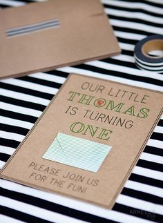 The L Blog | Lifestyle Crafts - Party Invitations with the Mini-Envelope Die Cut by Caroline Drake