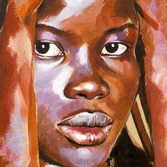 Drawing Portraits - Stéphanie Ledoux - Carnets de voyage Discover The Secrets Of Drawing Realistic Pencil Portraits.Let Me Show You How You Too Can Draw Realistic Pencil Portraits With My Truly Step-by-Step Guide. Portrait Au Crayon, L'art Du Portrait, Pencil Portrait, Portraits Pastel, Watercolor Portraits, Drawing Portraits, Art Visage, Afrique Art, African Artwork