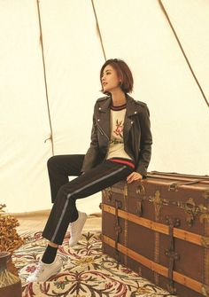 After School Nana - 'SI' 2017 Winter Collection Kpop Outfits, Swag Outfits, Nana Afterschool, Im Jin Ah Nana, School Shorts, Holy Chic, Korean Celebrities, Actor Model, Kpop Girls