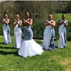 TRENDY SHWESHWE TRADITIONAL DRESSES FOR WOMAN 2019 - Latest African African Bridesmaid Dresses, African Wedding Attire, Bridesmaid Dresses 2018, African Weddings, Nigerian Weddings, Prom Dresses, Bridesmaid Outfit, Ball Dresses, Wedding Bridesmaids