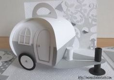 736 neuer Wohnwagen zum You are in the right place about gifts for her Here we offer you th 3d Paper Crafts, Diy Paper, Diy And Crafts, Chuck Box, Stampin Up, Diy Gift Box, Gift Boxes, Exploding Boxes, Pillow Box