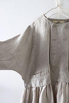 라르니에 정원 LARNIE Vintage&Zakka Cotton Maxi Skirts, Cotton Tunics, Lovely Dresses, Vintage Dresses, Linen Dress Pattern, Stylish Clothes For Women, Modest Wear, Pakistani Dress Design, Sewing Clothes