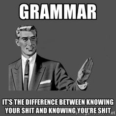 sassy grammar image for the win