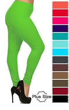 Women's Plus Size Full Length Basic Leggings - Variety of... https://www.amazon.com/dp/B01GGUNZ9U/ref=cm_sw_r_pi_dp_x_zfd4ybN5AZKJ6