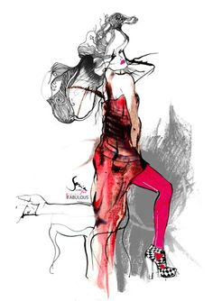 Sonia Hensler - Victorian Fashion Art Illustrator ( Bliqx.net )